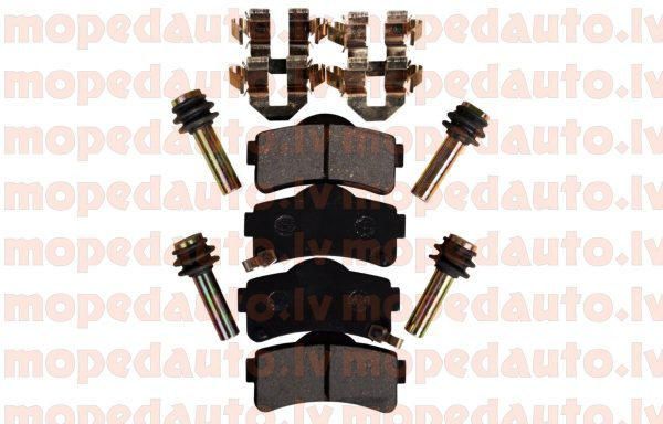 Front brake pads kit Aixam 2010+