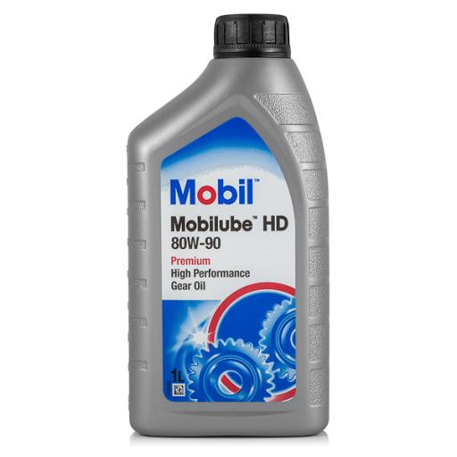 Gearbox oil Mobil 80W-90 1L